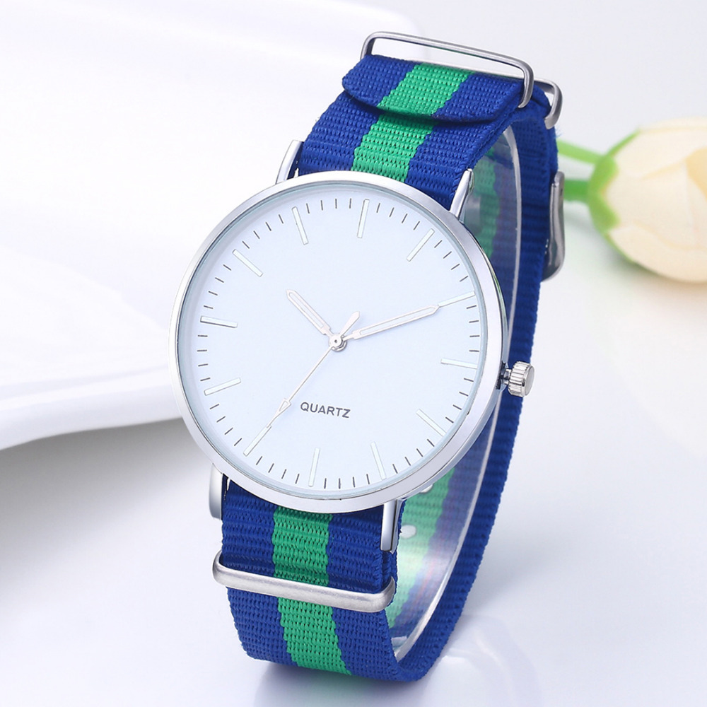 New Fashion style fabric strap watch Brife women dress quartz multicolor Flag Wristwatches popular watch clock hour relojes saat cartoon watch kid thin strap quartz wristwatch fashion hello kitty children relojes leather mini style popular female relojes