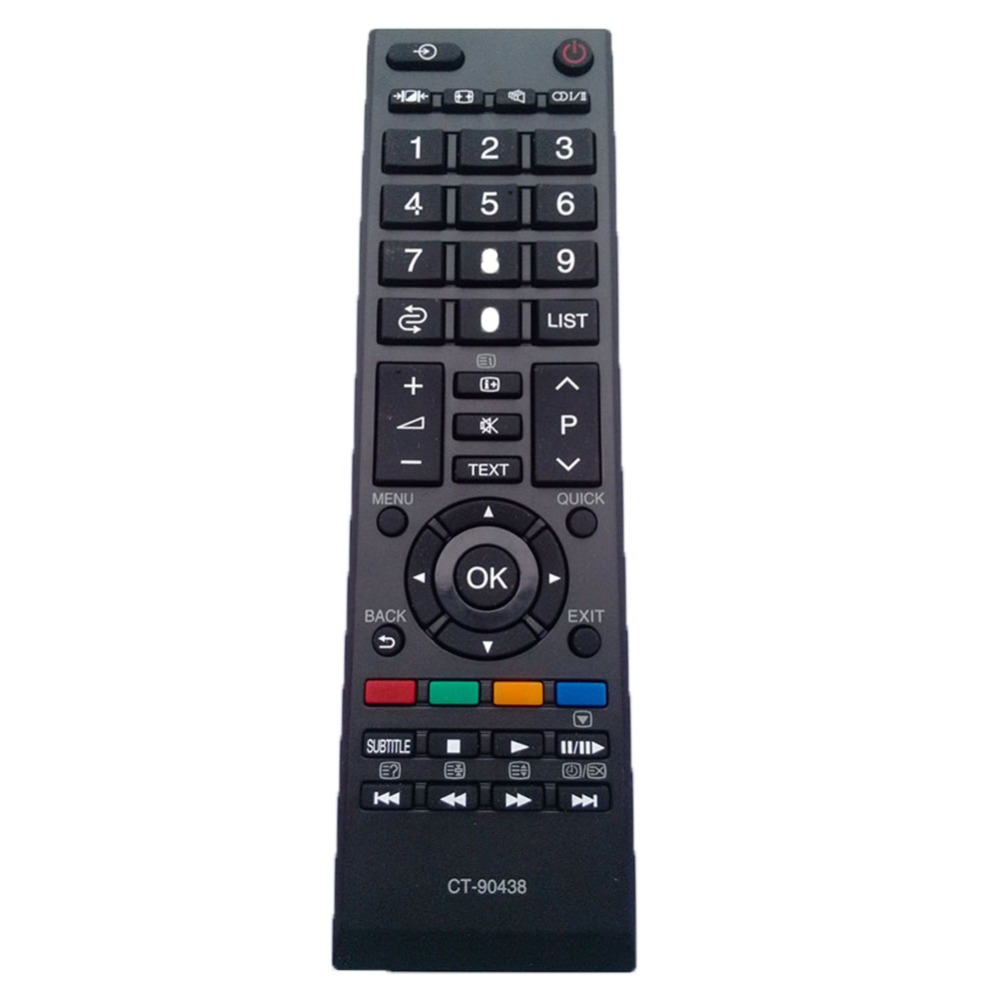 CT-90438 Use For Toshiba LED TV Remote Control