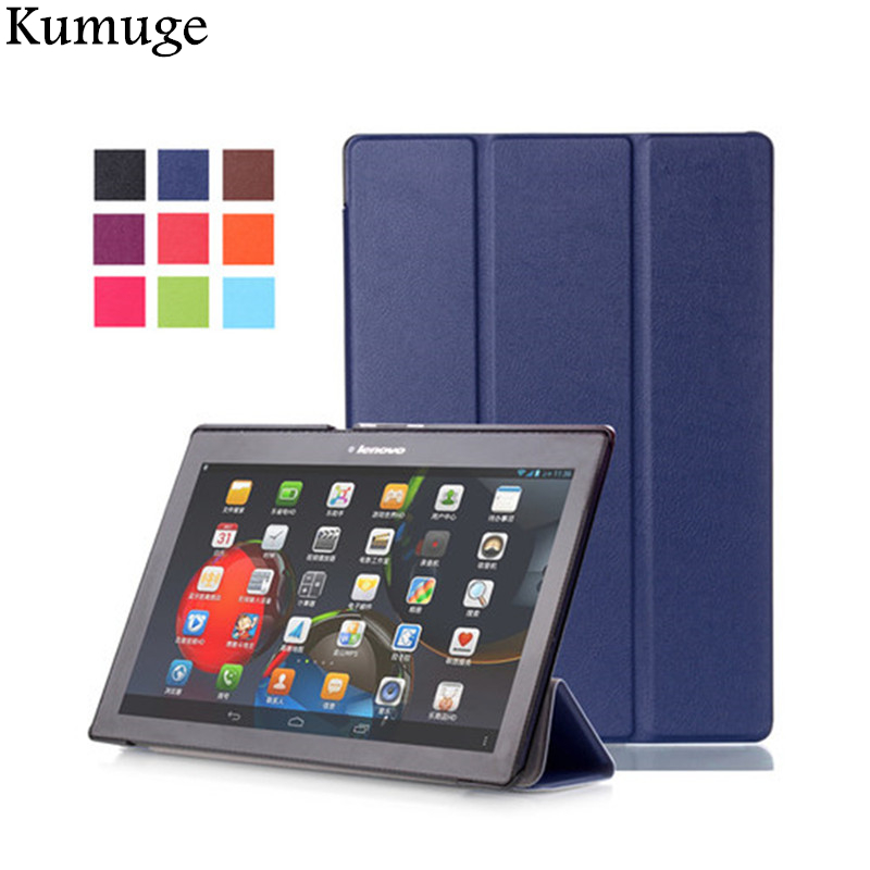 Case for Lenovo Tab2 A10-70L/F A10-30 X30F PU Leather Coque Cover for L