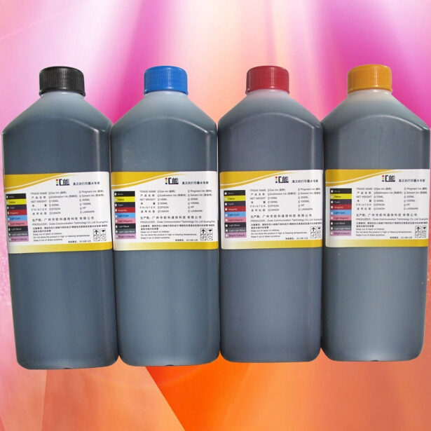 4 Color/lot Pigment Ink for Epson Inkjet Printer Water Transfer Printing Ink Hydrographic Ink