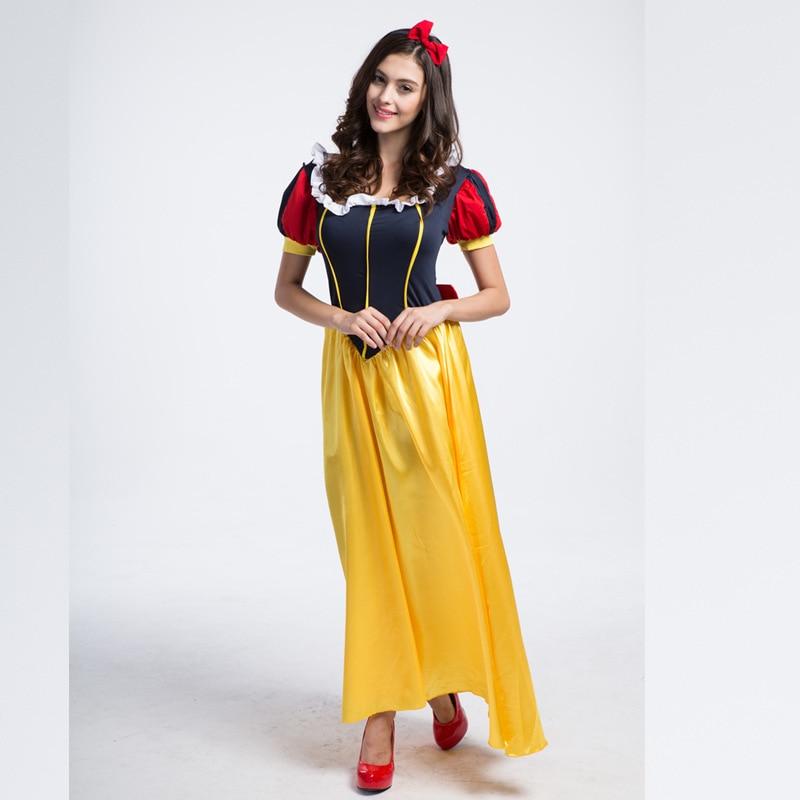 Sexy principessa biancaneve costume adulto plus size cosplay roupas donna  costumi di carnevale per adulti costumi di halloween per le donne in Sexy  ... 045a4e09e2f