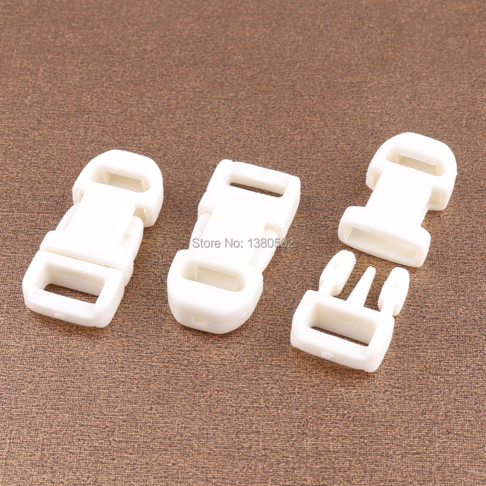 Modest 10pcs/lot Plastic Buckle White Color Safety Buckle Release Buckles For Backpack Accessories Arts,crafts & Sewing