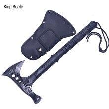 King Sea Hammer гаечный ключ топор Fire Ice Army Высокоуглеродистая сталь Тактический Томагавк открытый практичный топор Стекловолоконная ручка Ручной инструмент