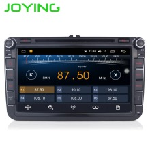 Quad Core 1024*600 2 Din Android 6.0 Car Audio Radio GPS de navegación Para Volkswagen VW Scirocco Passat Sedan Polo Golf 5 6 Fabia