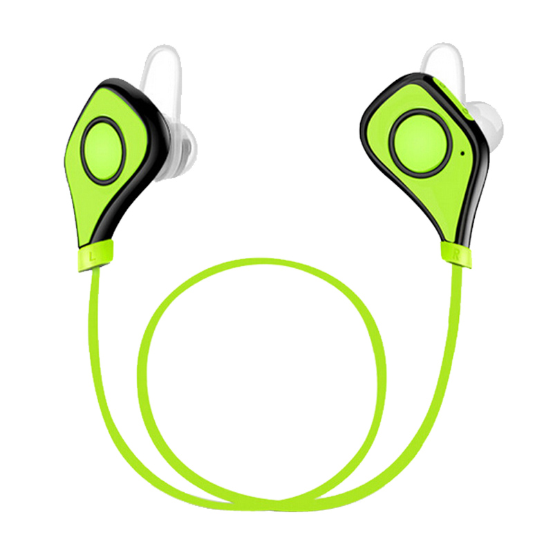 Sports Wireless Bluetooth Headphones Wireless Stereo Headsets With Mic Earbuds Sweatproof Gym Earphones for iPhone Samsung new fashion sweatproof wireless bluetooth v4 0 sports stereo headphones with mic ear hook earbuds earphones for iphone for sony