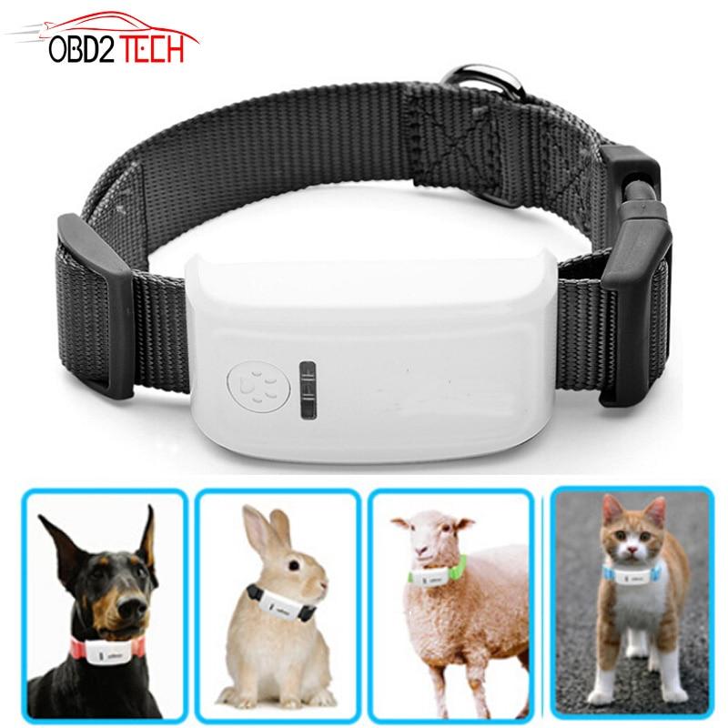 5c8845987 Impermeable TKSTAR LK909 TK909 en tiempo Real GPS rastreador de mascota  Foret gato, perro,