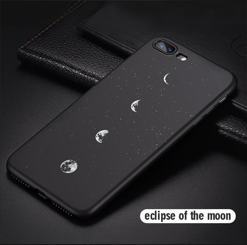Cell Phone - Newest Space Moon Astronaut Phone Cases For iphone 7 8 X Case