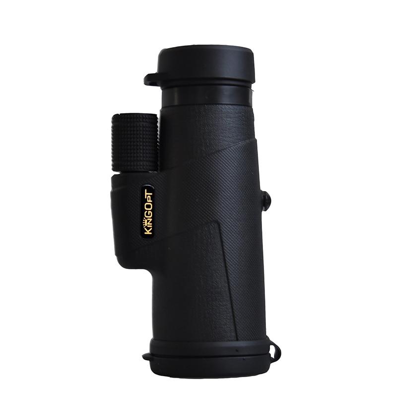 KINGOPT 10x42 Handheld Monoculars HD Wide angle Lll Night Vision Monocular Telescopes Outdoor Hiking Camping Bird watching Tools in Monocular Binoculars from Sports Entertainment