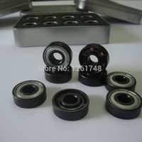 16PCS BSB Ceramic Roller Bearings Ceramic Bearings 6 Beads White Ceramic Bearings Skating Competition 608Z8 22