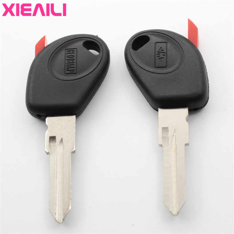 XIEAILI 10Pcs Transponder Key Case Shell For Fiat Key Fob Case  S107