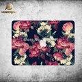 Красивого Цветка Полное Покрытие Тела Этикеты Винила Наклейки Ноутбук Для Apple Macbook Air Pro Retina 11 12 13 15 Дюймовый Защитная пленка