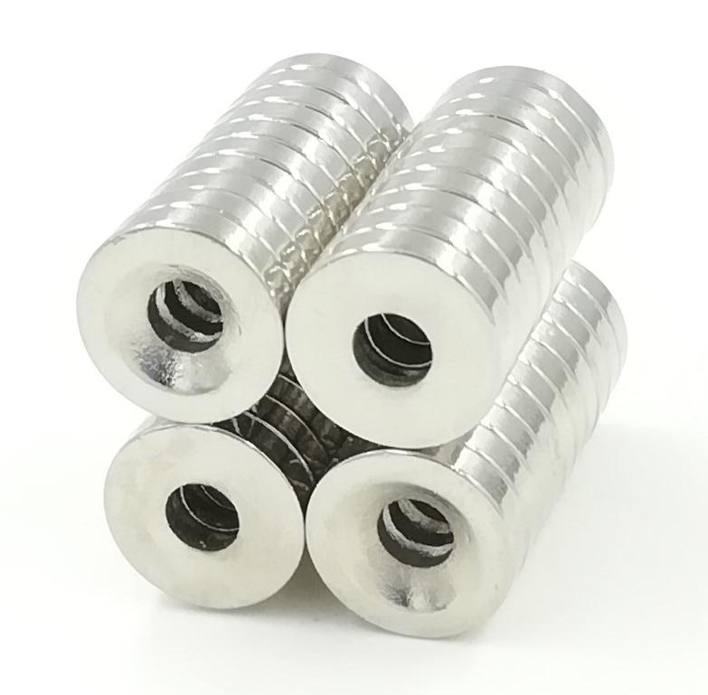 10 Pcs/Pack 12mm x 3mm Hole 4mm N50 Magnetic Materials Neodymium Mini Small Round Disc Magnets 25 x 10 x 3mm ndfeb magnets 50 pcs pack
