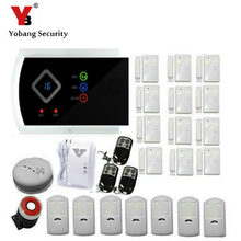 YobangSecurity Wi-fi House Safety Alarm System DIY Package with Auto Dial Android IOS APP Management Russian Spanish Italian Slovak
