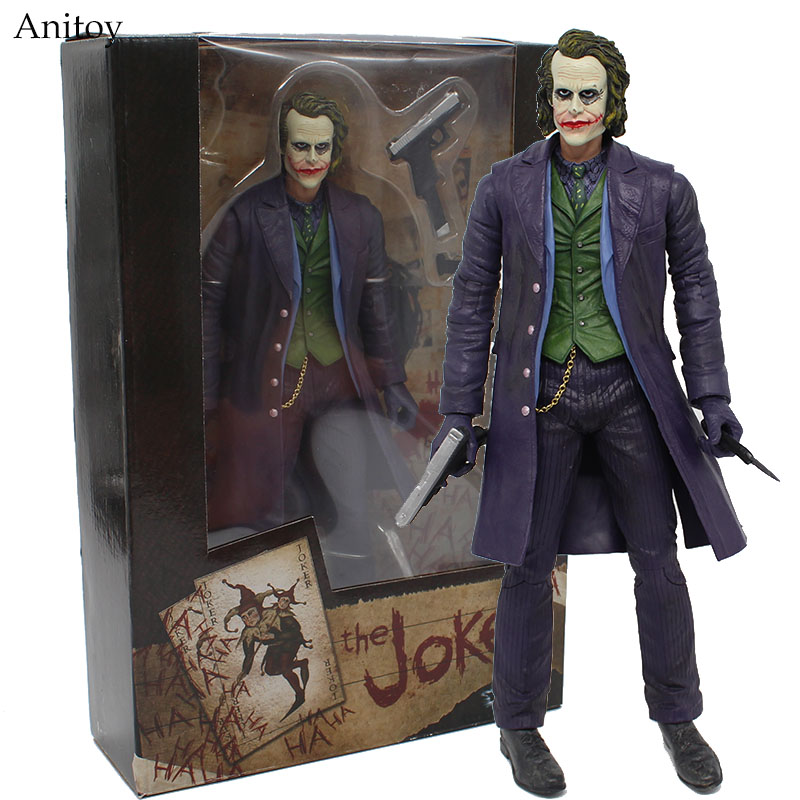 NECA The Joker Batman PVC Figure Collectible Toy 30cm KT4044 shfiguarts batman injustice ver pvc action figure collectible model toy 16cm kt1840