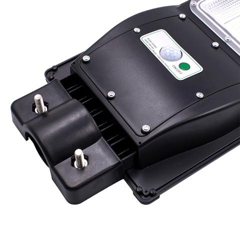 com sensor radar alimentado luz controle