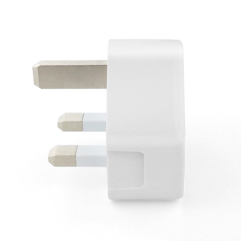 Image 4 - UK Plug Single USB Double USB 3USB Adapter Mains 3 Pin Plug USB Adaptor Wall Charger Travel Charging Cable 5V2 1A For Apple-in Electrical Plug from Consumer Electronics