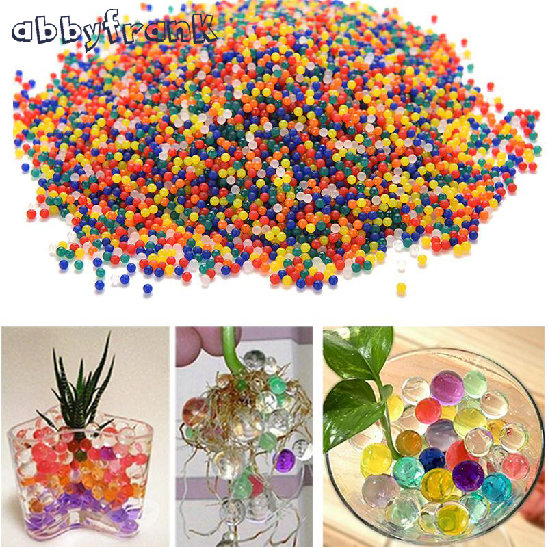 10000 Pcs Colorful Crystal Gun Paint Ball Bullet Soft Water For Gun Paintball Bullet Accessories Pistol Soft Bullet For Toy Gun Outdoor Fun & Sports
