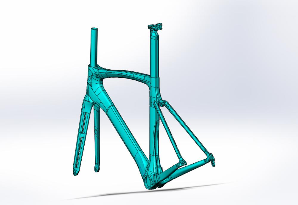 DC009 bonne qualité cadre de vélo de route en carbone Toray T1000 UD PF30 système conique vélo de route cadre en carbone cadre en carbone vélo de route