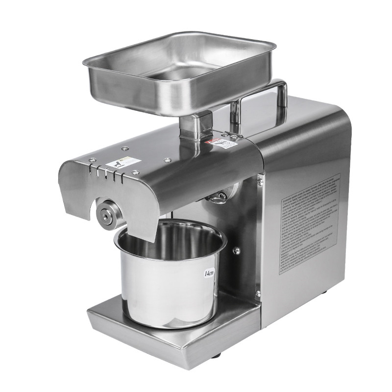 Commercial Cold Hot Press Oil machine Home Oil press Stainless Steel Peanut Oil Press Machine Suitable For Almond Sesame dl zyj05c oil press machine stainless steel seed oil extractor hot cold press for peanut sesame flaxseed coconut cocoa