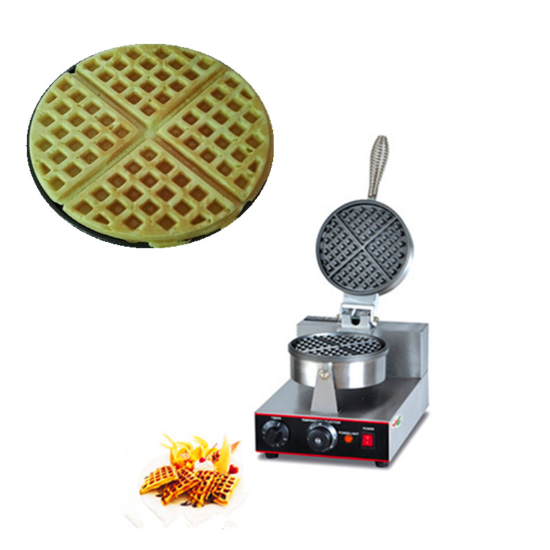 220V commercial household stainless steel waffle baker waffle maker machine cukyi household electric multi function cooker 220v stainless steel colorful stew cook steam machine 5 in 1