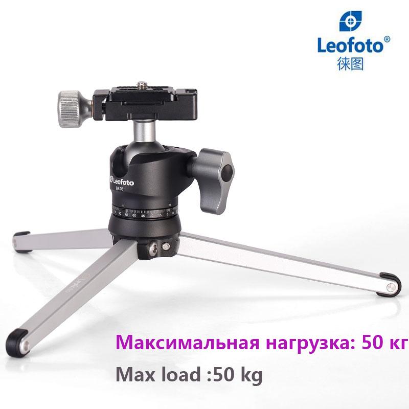 Prix pour LEOFOTO Mini Table Trépied pour Caméra/Bureau Stand Stable Trépied avec Rotule pour Reflex Numériques Les Voyageurs pour Paysage Photographe