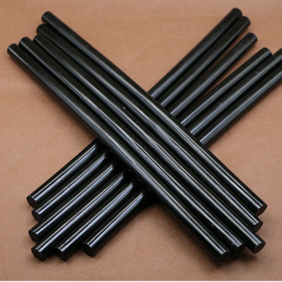 10Pcs 7mm 11mm Hot Melt Glue Stick For Heat Pistol Glue Black High Viscosity Glue Electric Glue Gun Repair Tool Kit DIY
