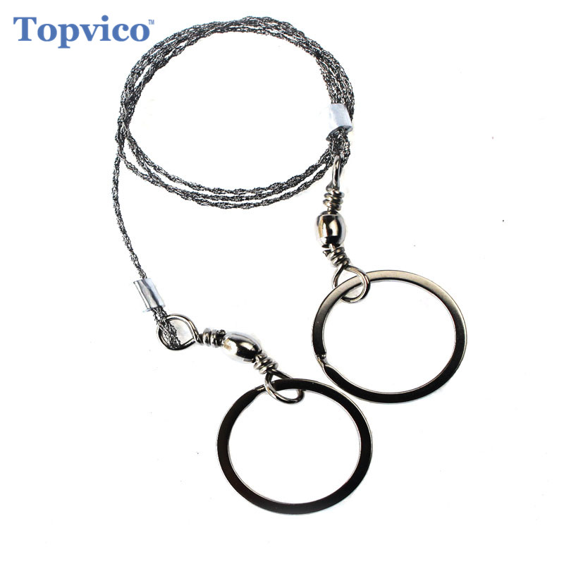Mini Wire Saw Stainless Steel Outdoor Survival Self Defense Camping Hiking Hunting Chainsaws Hand Saw Fret Saw Tools