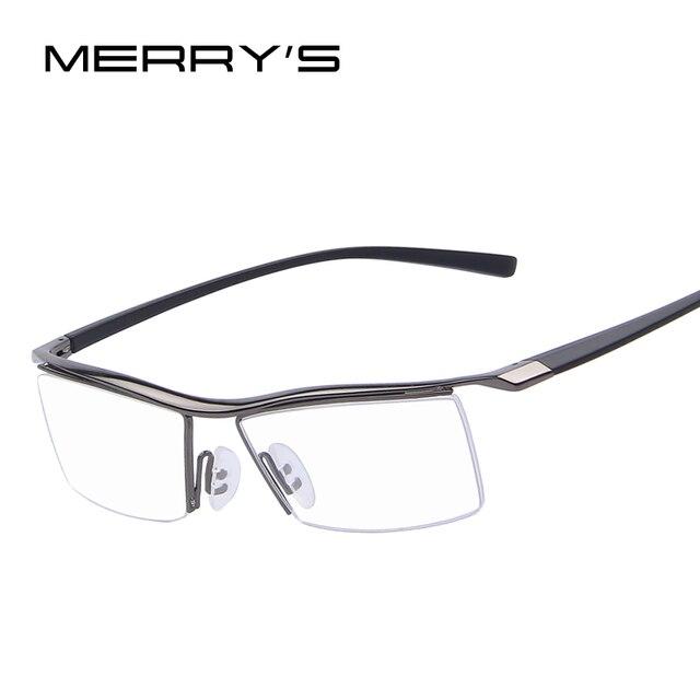 Merrys мужские Оптические Оправы для очков стеллаж для выставки товаров серийные очки модная оправа для очков при близорукости титановые рамы TR90 ноги
