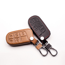 Key Holder Case Cover Chain Key Chain For Jeep Grand Cherokee Compass Liberty Commander Renegade Flip