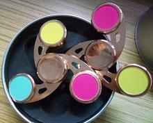 Colorful hand spinner fidget brass Tri Spinner Fidget Spinner EDC Toys Cool Hand Spinner Fidget Kids