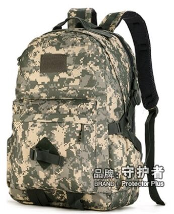 ФОТО 40L outdoor military tactical backpack outdoor backpack contracted leisure backpack tactical