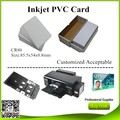 Premium tarjeta en blanco del pvc de inyección de tinta para la impresora de epson t50 r230 r330 r290 l800 230 unids/lote