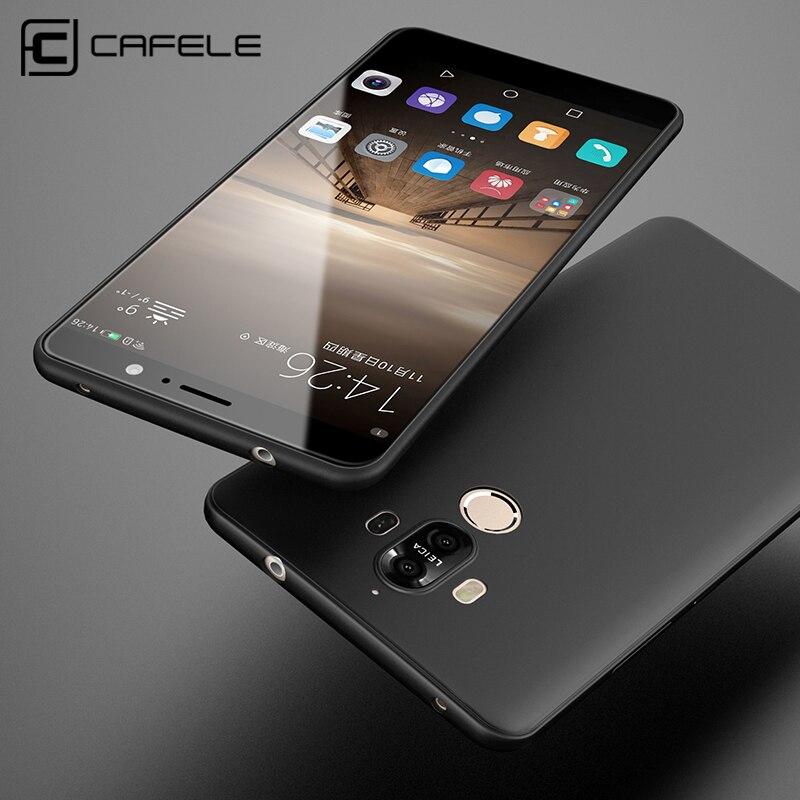 Cafele мягкий чехол для Huawei Mate 9 случаях ТПУ кремния Тонкий защитить кожу резиновая ультра тонкий телефон чехол для Huawei Mate 9 Pro Чехол