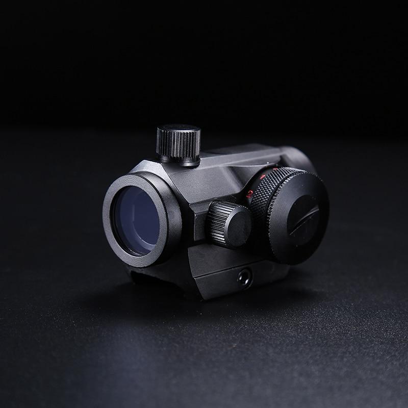 2018 Nouvelle Tactique de Chasse Holographique Vue pour Tir Airsoft 20mm Rail Mount Lunettes De Visée De Chasse Optique Rouge et Vert Dot