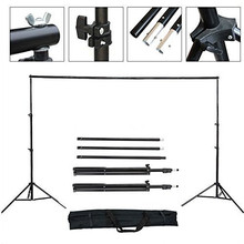ZUOCHEN Photo Studio 2x2m Adjustable Heavy Duty Backdrop Background Support Stand KIT