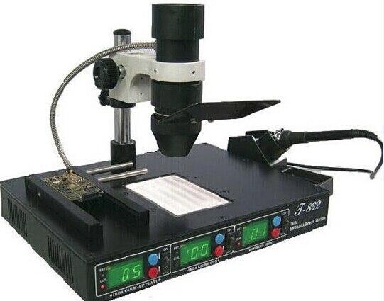 PUHUI T862 SMT SMD паяльник для наладочной станции сварщик Инфракрасная паяльная станция IC реболлинговое устройство