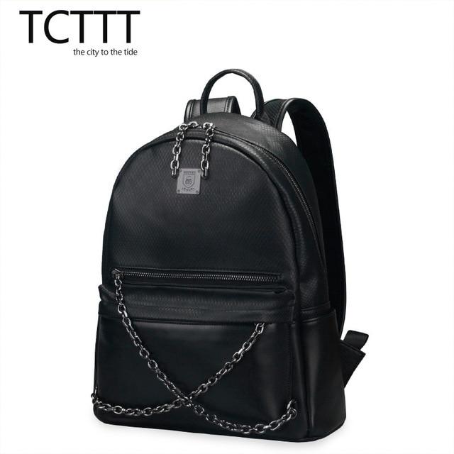 4ab509c1d372 TCTTT Женщины Металл рок Панк сеть рюкзак Мужчин Прохладно тенденция  школьная сумка женская мода рюкзак путешествия