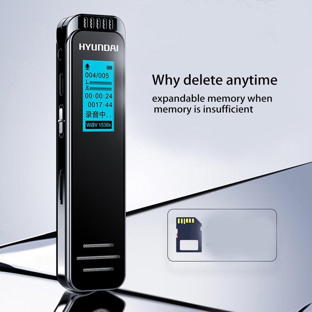 K701 Smart Voice Recorder Intelligente Een-klik Opname High-definition Voor Lezingen Talks Leren Ruisonderdrukking Draagbare