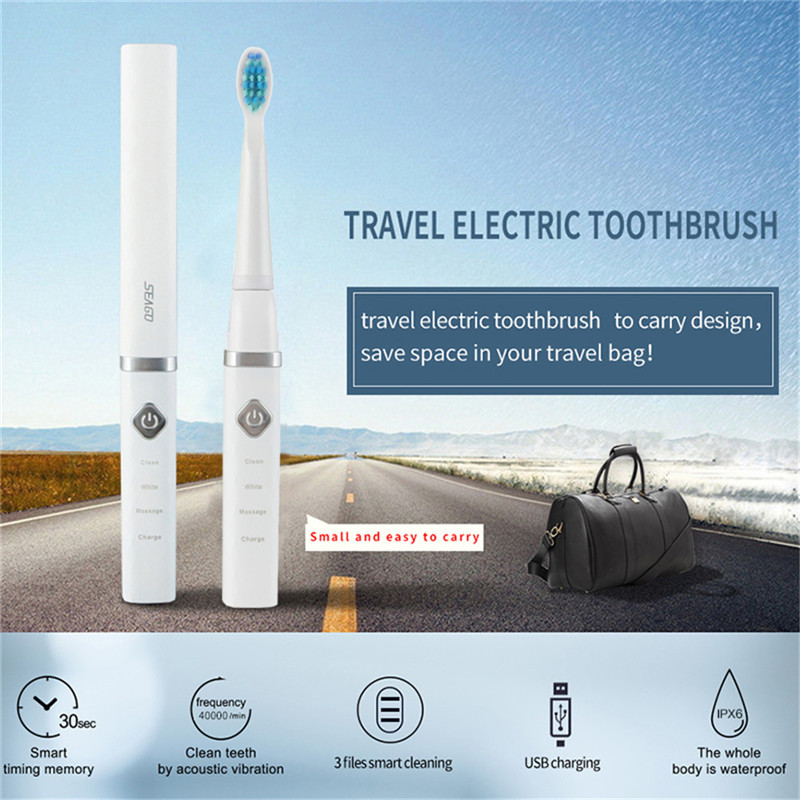 40000 times/min Ultrasound Electric Toothbrush USB Rechargeable Sonic Clean Teeth Whitening Massage Tooth Brushes Smart Timer 47 image
