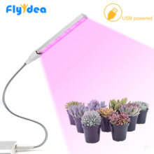 LED Grow Light DC5V 5W Flexible Stand USB Phyto Lamp For Indoor Desktop Plant Growth Fill Light For Flower Plant Lamp Tent Box(China)