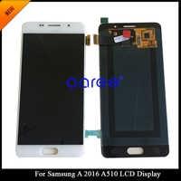 Getestet Super AMOLED Für Samsung A5 2016 A510 LCD Display Für Samsung A5 2016 A510F Display LCD Bildschirm Touch Digitizer montage