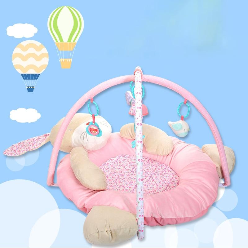 Baby Music The Bear Game Blanket Baby Fabric Art Bodybuilding Frame Crawl Pad Intelligence Toys