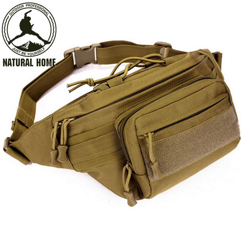 NaturalHome resistente al Agua Hombres Tácticos Bolsas de Cintura Paquete Paquet