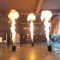 Lanzador de llama dmx de efecto de escenario de máquina de fuego de una cabeza