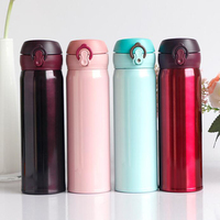 Vacuum Flasks 500ml Nice Color Thermos Bottle Coffee Cup For Girl Glassware Thermal Insulation Bottles Tumbler