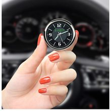For benz Honda Toyota Nissan Car Clock Luminous Table Refit Interior Quartz Watches(China)
