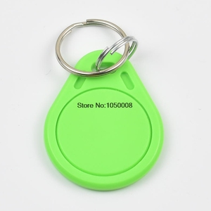 RFID key fobs 125KHz proximity ABS key tags for access control Writable & Readable keychain keyfobs T5577 T5557 chip 1pcs