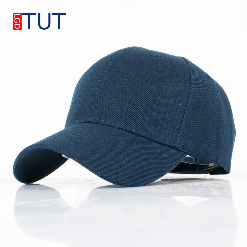 New Summer Outdoor Sports Baseball Cap For Men Women 2018 Fashion Casual Solid Color Hat Adjustable Hats Snapback Hat LGDTUT fashion sports baseball cap men