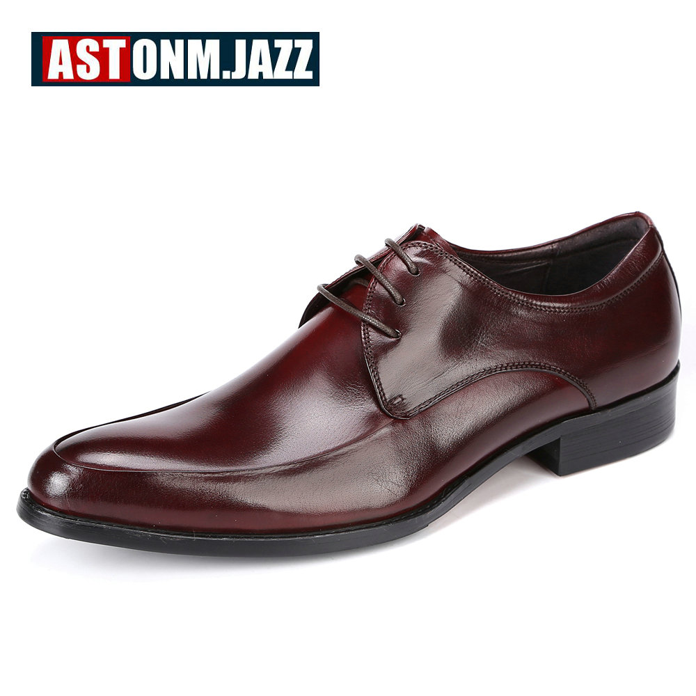 Men's Wedding Dress Shoes Leisure Casual Full Grain Leather Oxfords Shoes For Men Business Brogues Shoes Moccasins Party Shoes new branded men s casual full grain leather oxfords shoes wedding dress shoes handmade business lace up brogue shoes for men
