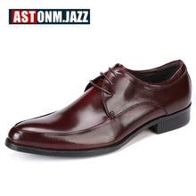 Мужские свадебные модельные туфли повседневная обувь для отдыха из натуральной нешлифованной кожи Туфли-оксфорды для деловых мужчин Ботинки-броги Мокасины вечерние сапоги